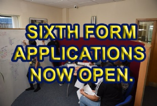 Sixth Form Applications Now Open!